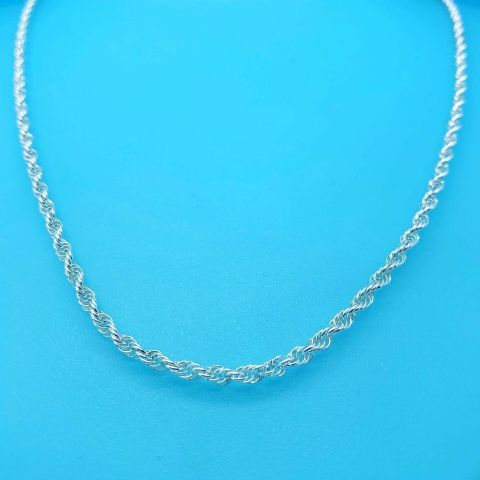 Genuine 925 Sterling Silver Triple Prince Of Wales Chain Avail In Diff Lengths
